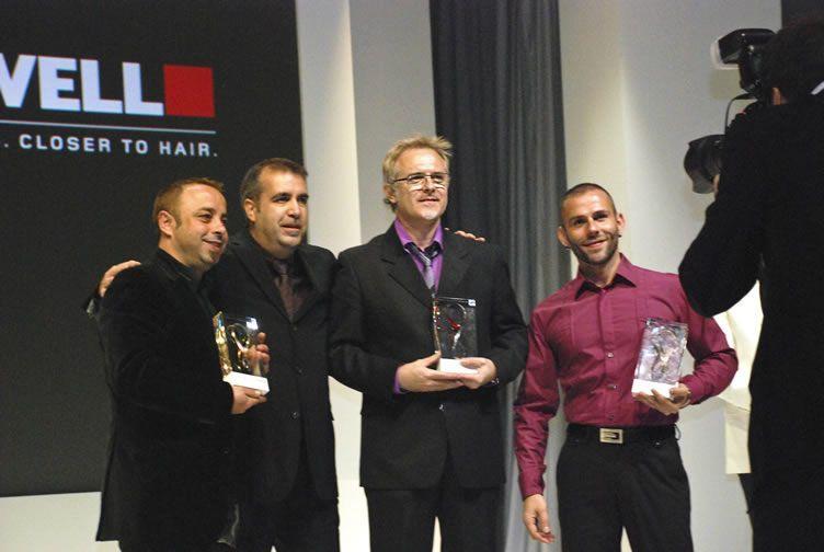 Alberto Baixaulí, nominado como uno de los mejores peluqueros en España